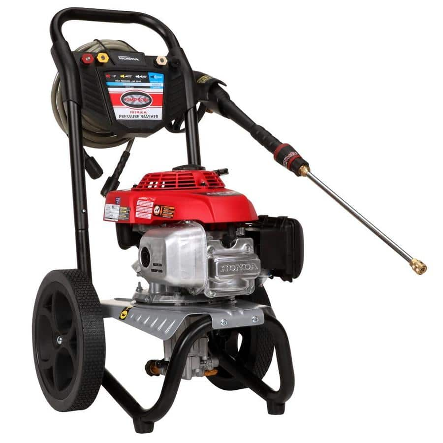 SIMPSON MegaShot 2800-PSI 2.3-GPM Gas Pressure Washer with Honda Engine $280 (and others)