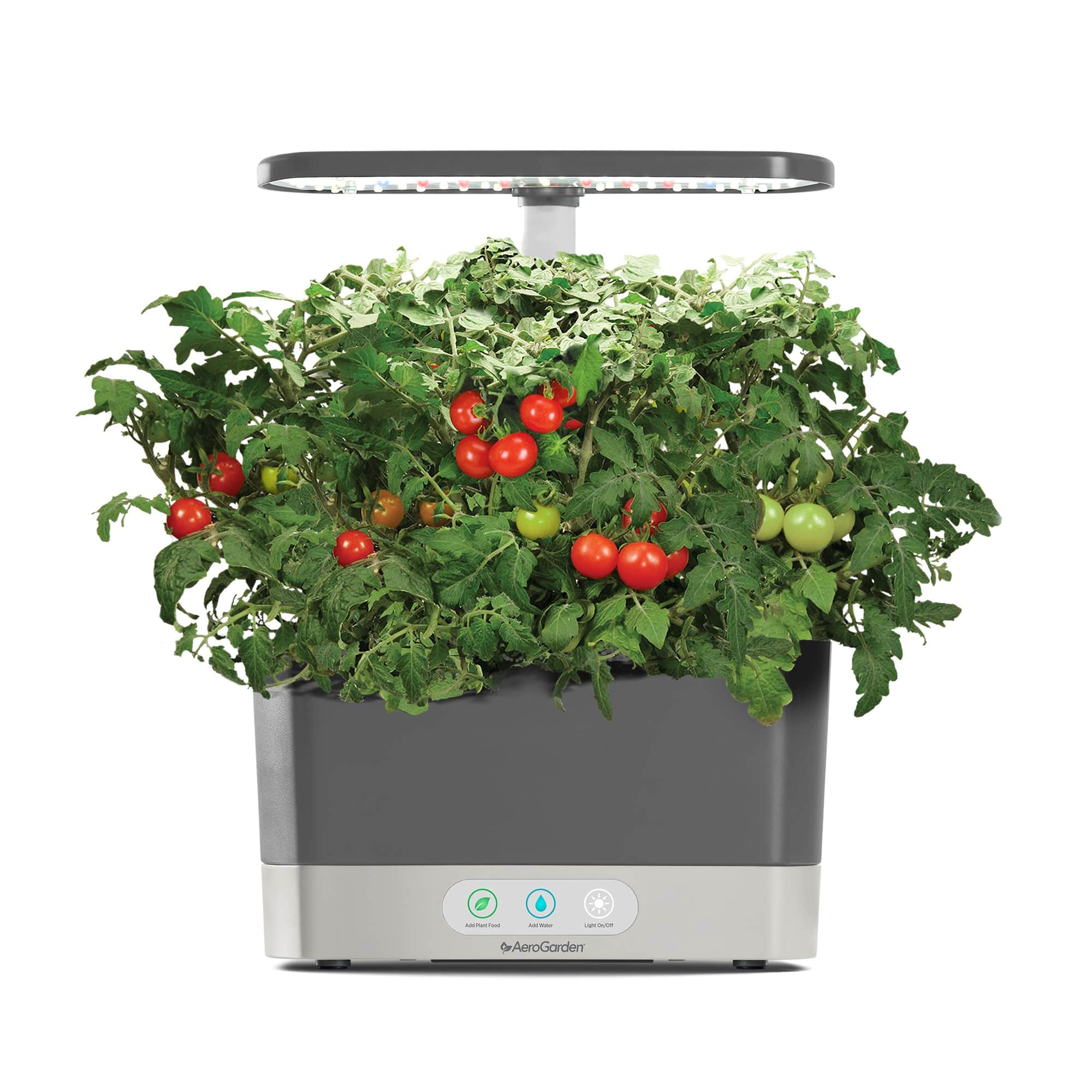 AeroGarden Harvest, Grey with Gourmet Herbs Seed Kit - $74.99