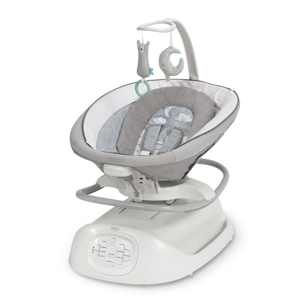 Graco Sense2Soothe Baby Swing with Cry Detection Technology, Sailor - Walmart.com - $175