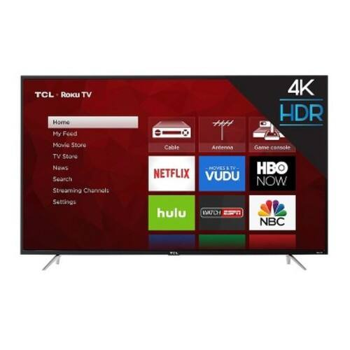 "TCL 65"" 4K HDR Roku Smart LED TV 65S405 $699.99 @ Target"