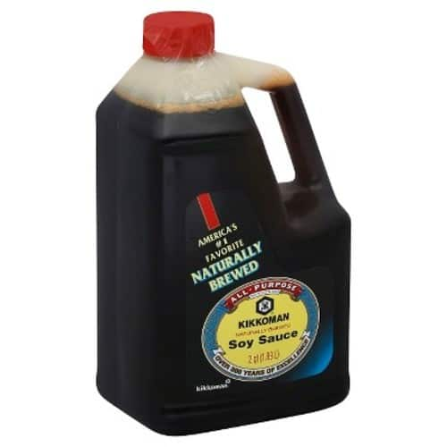 Add- On Kikkoman Soy Sauce, 64-Ounce Bottle (Pack of 1)  $4.99