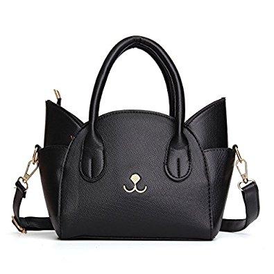 OURBAG Women's Fashion Top Handle Cute Cat Cross Body Shoulder Bag $12.99 @Amazon