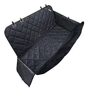 Travel Inspira Dog/Pet Seat Cover Protector for Car and SUV with Side Flaps and Pet Seat Belt $19.79 @Amazon