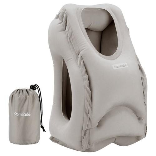 Homecube Inflatable Travel Pillow $7.49 @Amazon