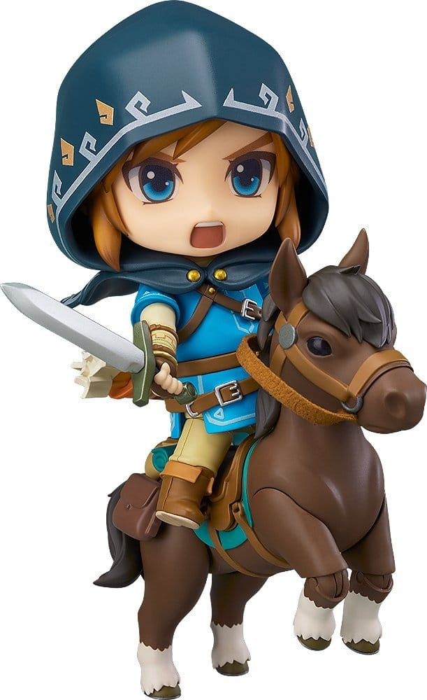 Good Smile The Legend of Zelda: Breath of the Wild: Link (Deluxe Version) Nendoroid $39.99