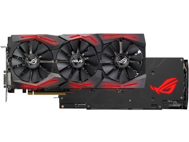 ASUS ROG Strix Radeon RX 580 O8G Gaming OC Edition (230-25 MasterPass MPBF17) $204.99