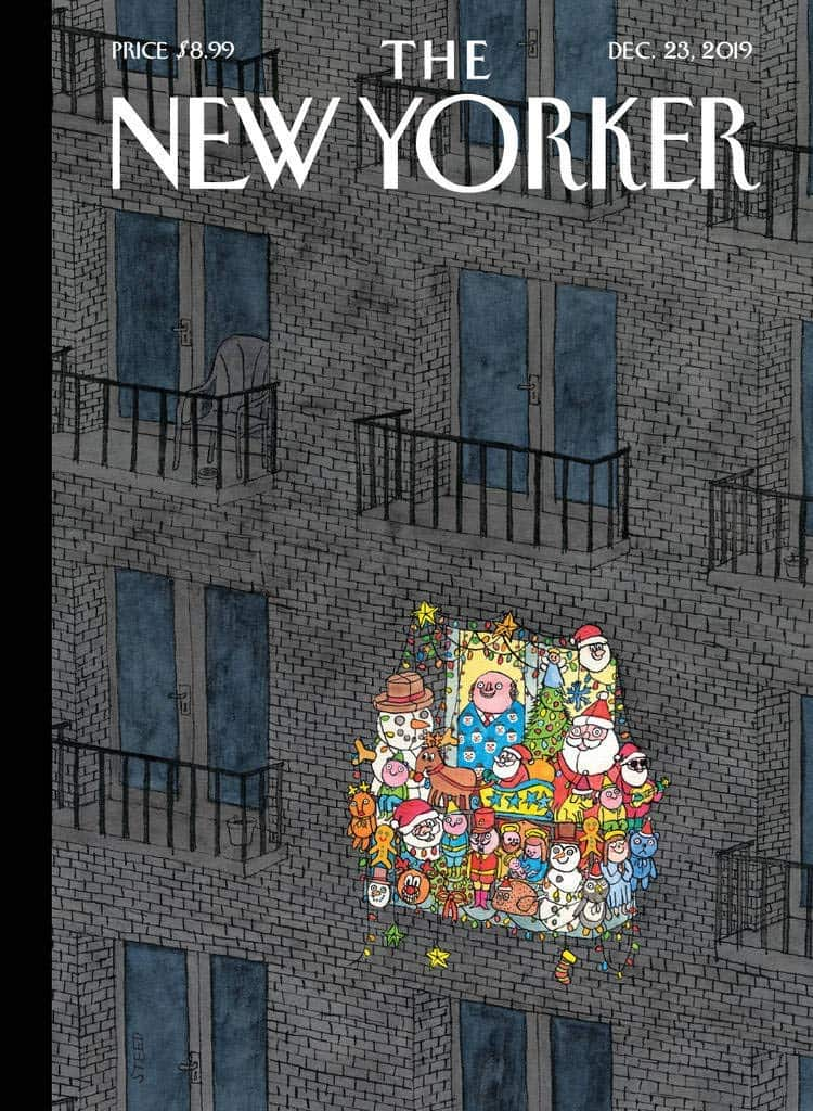 New Yorker 3 month subscription for $5 (95% off)