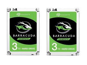 "$139.99 2 x Seagate BarraCuda ST3000DM008 3TB 64MB Cache SATA 6.0Gb/s 3.5"" Hard Drive Bare Drive $139.95"