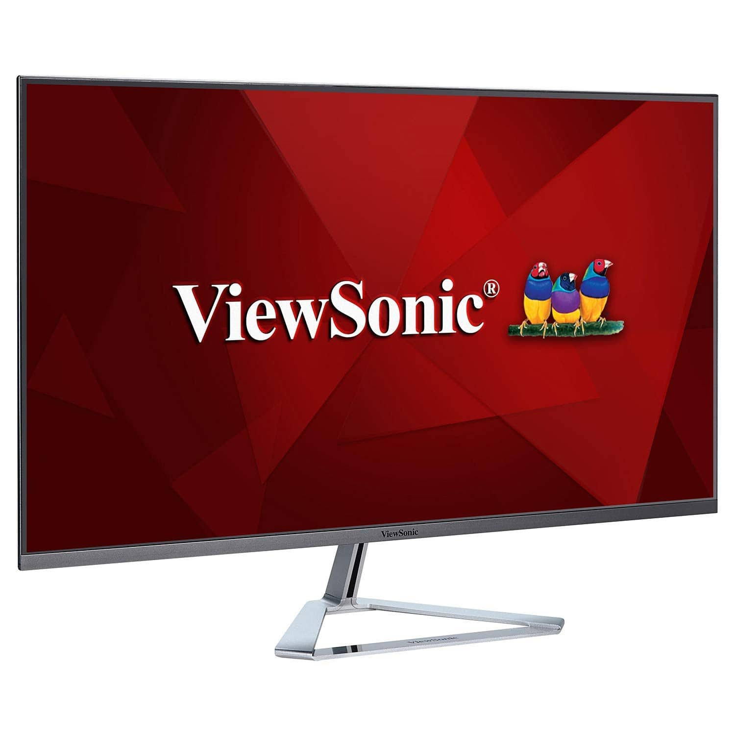 $169.0 -  ViewSonic VX3276-MHD 32 Inch 1080p Frameless Widescreen IPS Monitor with HDMI and DisplayPort