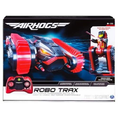 Air Hogs Robo Trax All Terrain Tank, RC Vehicle with Robot Transformation; In-store $35, Shipping $48