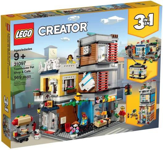 LEGO Creator 3-in-1 Townhouse Pet Shop & Cafe 31097 Store Building Set YMMV $19