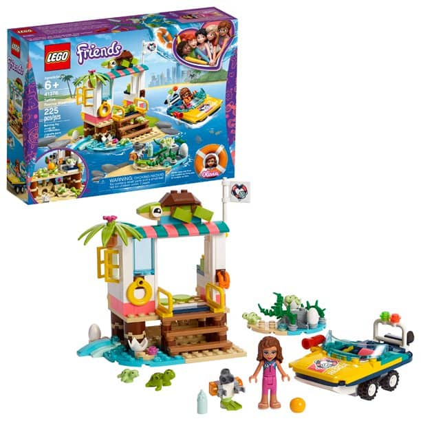 LEGO Friends Turtles Rescue Mission 41376 Building Kit (225 Pieces) 9$ YMMV at Walmart $9