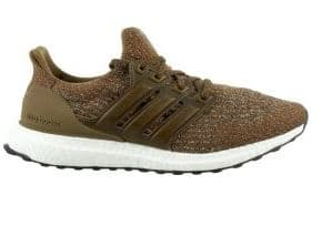 adidas Men's Ultra Boost Running Shoes Green/Tan: $109.97 + FS