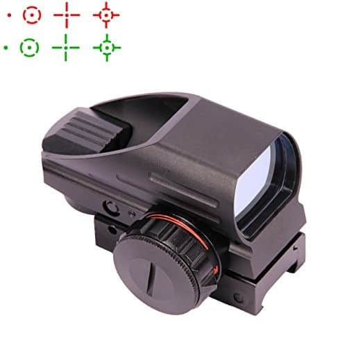 Vokul Tactical Multi Optical Coated Holographic Red and Green Dot Sight Tactical Reflex 4 Different Reticles $18.74 @Amazon