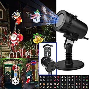 14 Pattern LED Christmas Projector Light with RF Remote Control for $24.99 @ Amazon