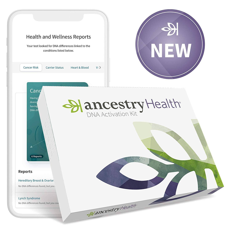 AncestryHealth Core: Health + Genetic Ethnicity Test $79.99