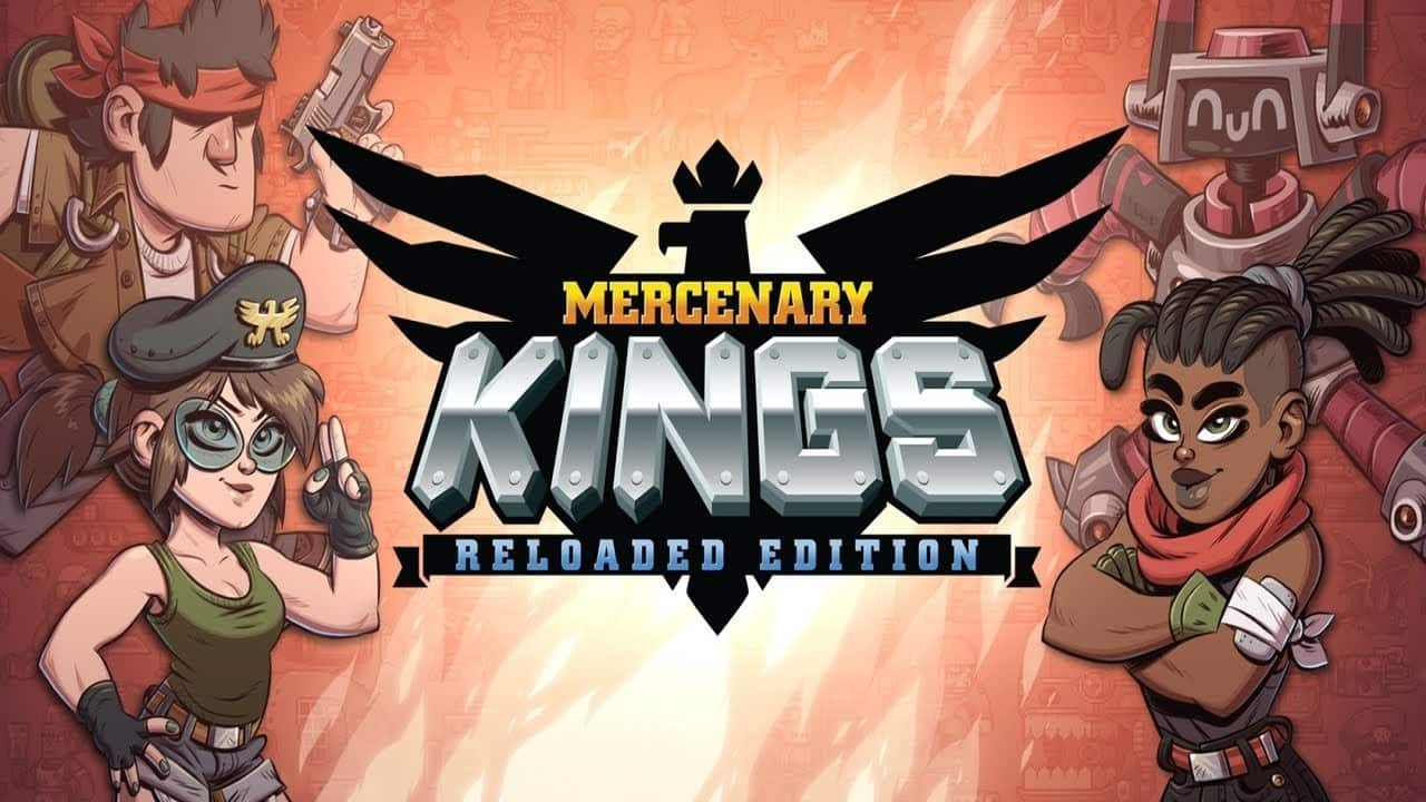 Mercenary Kings Reloaded PS Vita - Crossbuy for PS4 version owners