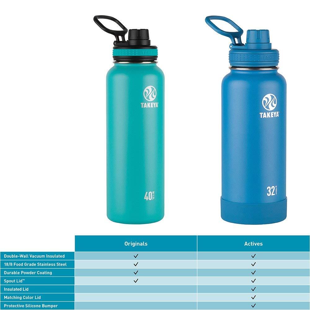 Takeya 40oz bottle Free w/ purchase of 24oz bottle or bigger $27.99