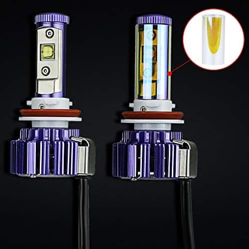 2 PACK MICTUNING 6000K White LED Headlight Bulbs from $26.34