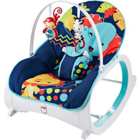 Fisher-Price Infant-to-Toddler Rocker - Midnight Rainforest $15