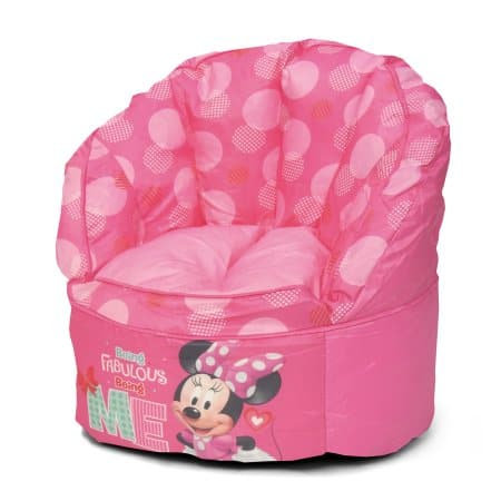 Disney Minnie Mouse Kids Bean Bag Chair $15