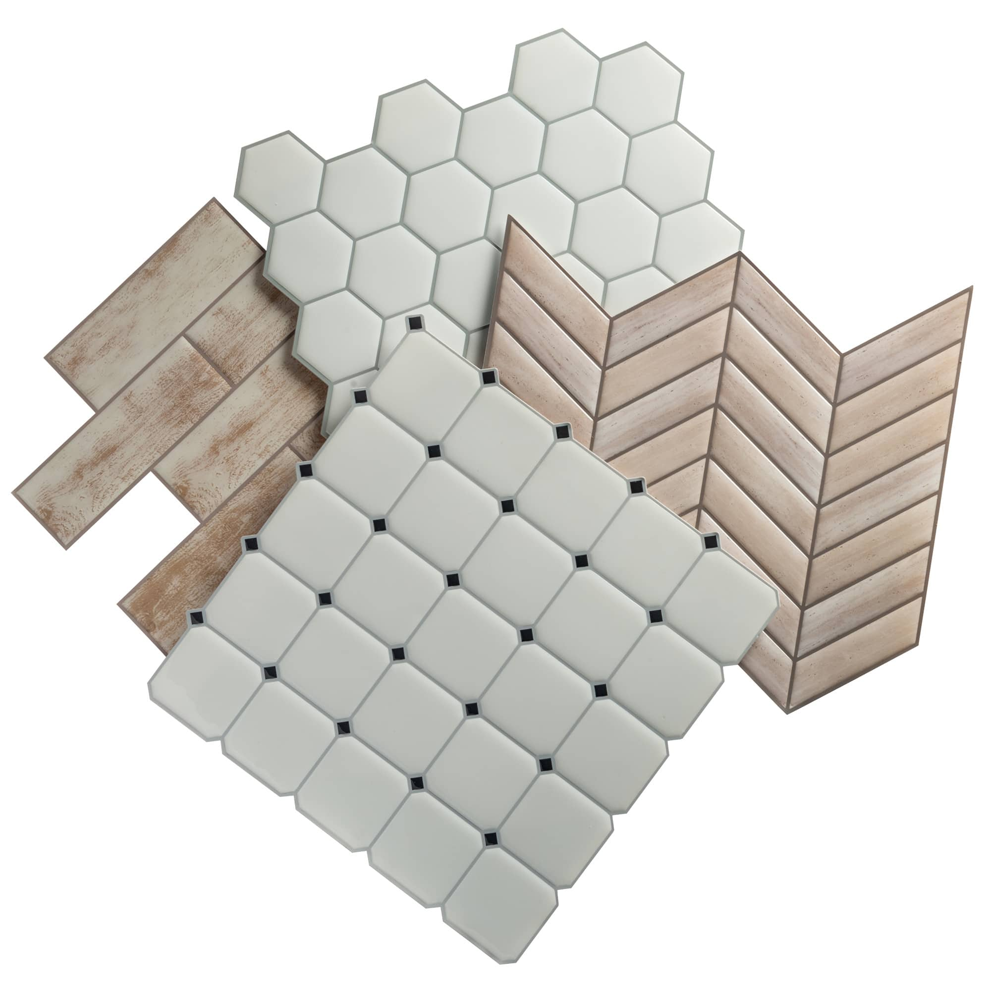 32-Pack: RoomMates StickTiles Peel and Stick Wall & Backsplash Tiles at Meh.com $29