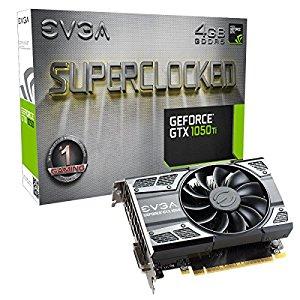 Amazon 1050 - EVGA GeForce GTX 1050 Ti SC GAMING, 4GB $116.72