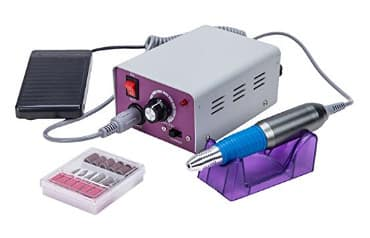 35% Off Professional Electric Nail Drill Machine Kit for Acrylic Manicure Pedicure (Purple)  $21.44