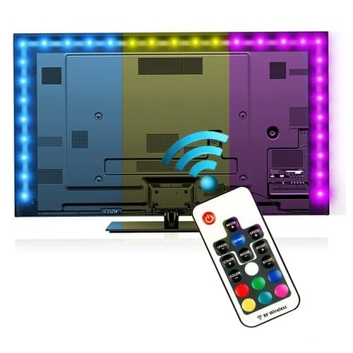 EveShine Bias Lighting for HDTV (78.7in / 2m) with Remote Control $9.59 @Amazon
