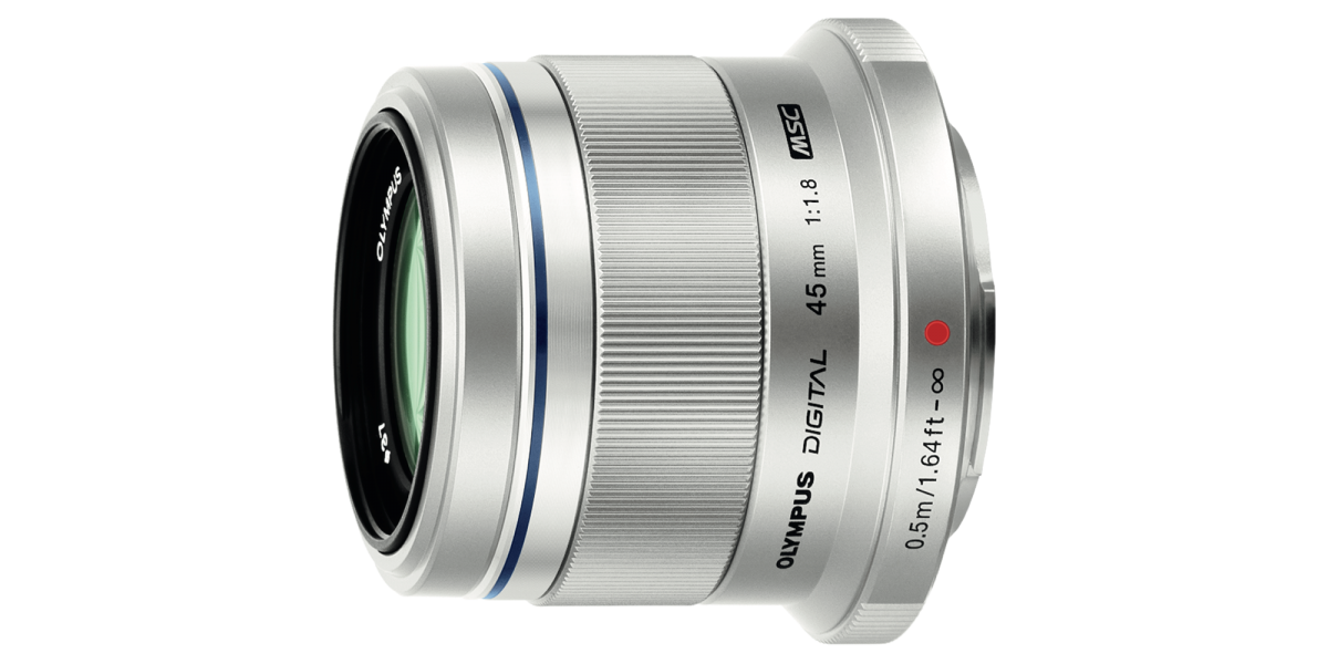 Olympus Certified Reconditioned. 45mm f1.8 Silver $174+Tax FS