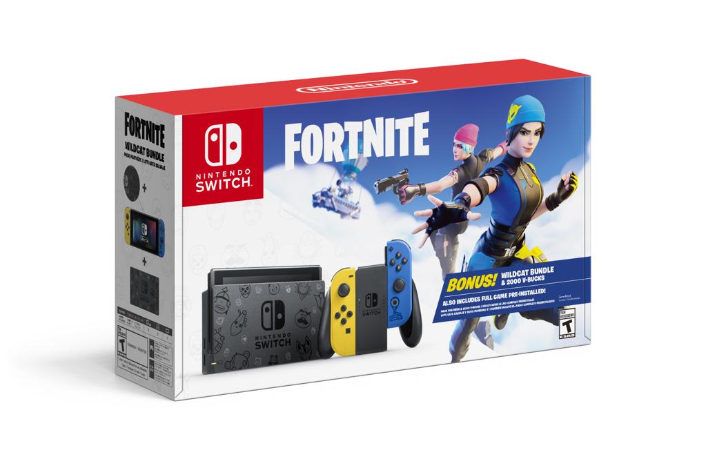 Nintendo Switch™ Fortnite Wildcat Bundle - $299.99