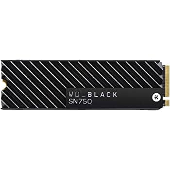 WD BLACK SN750 NVMe SSDs 500GB, 1TB, 2TB Gen 3 PCle, M.2 2280 $69.99 - $399.99