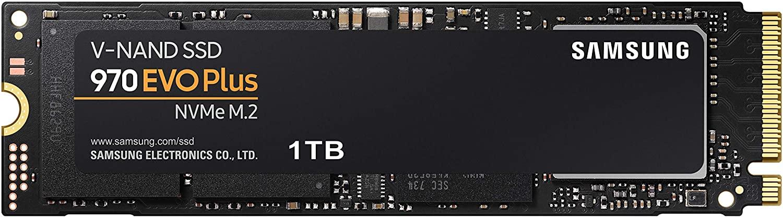 Samsung 970 EVO Plus 1TB NVMe SSD, PCle M.2 2280 ($189.99)