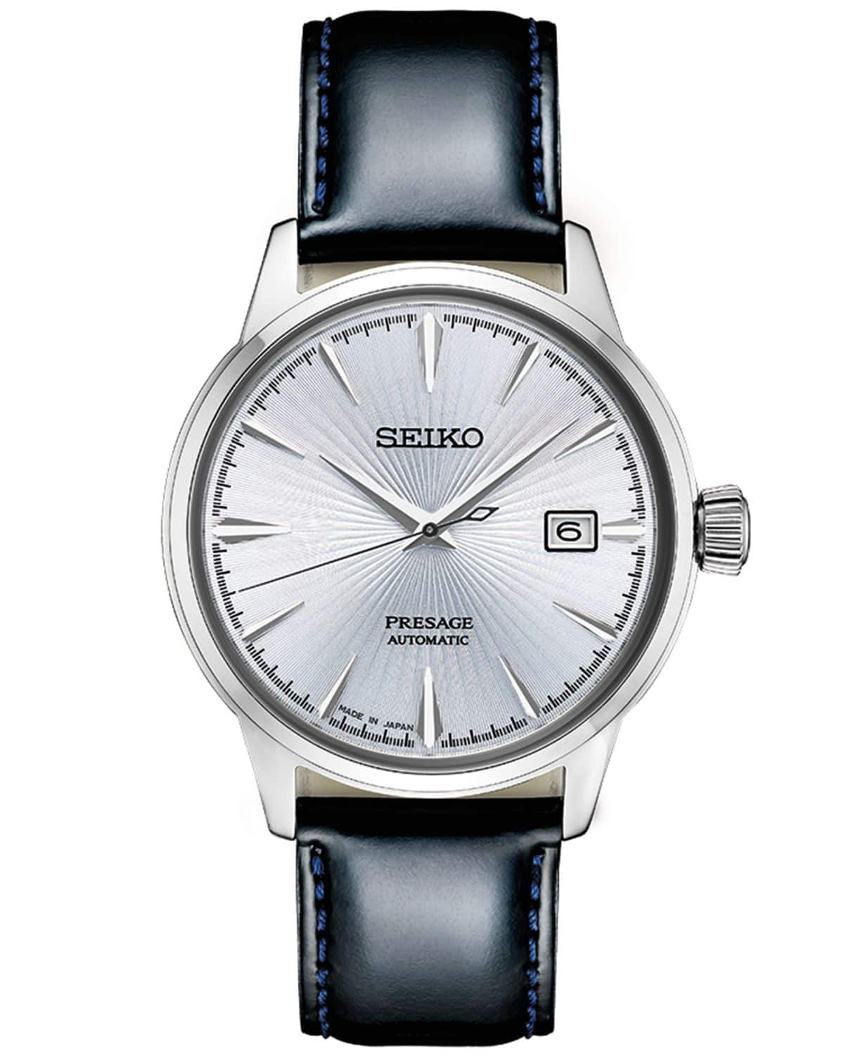 Seiko Presage Time automatic dress watch for $286 at Macys $286.87