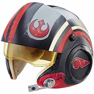 Hasbro Star Wars The Black Series Poe Dameron Electronic X-Wing Pilot Helmet $65