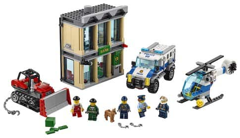 LEGO® City Police Bulldozer Break-in 60140 $70