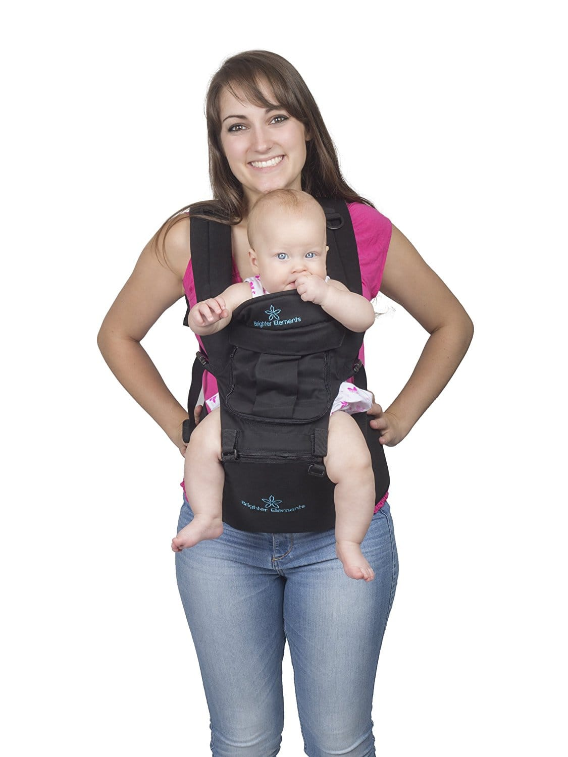 Brighter Elements Baby Carrier (Black + 5 Positions) $24.95