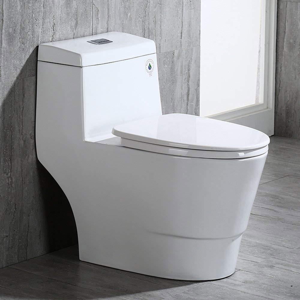 Wondrous Woodbridge T 0001 One Piece Toilet Amazon 271 58 Squirreltailoven Fun Painted Chair Ideas Images Squirreltailovenorg