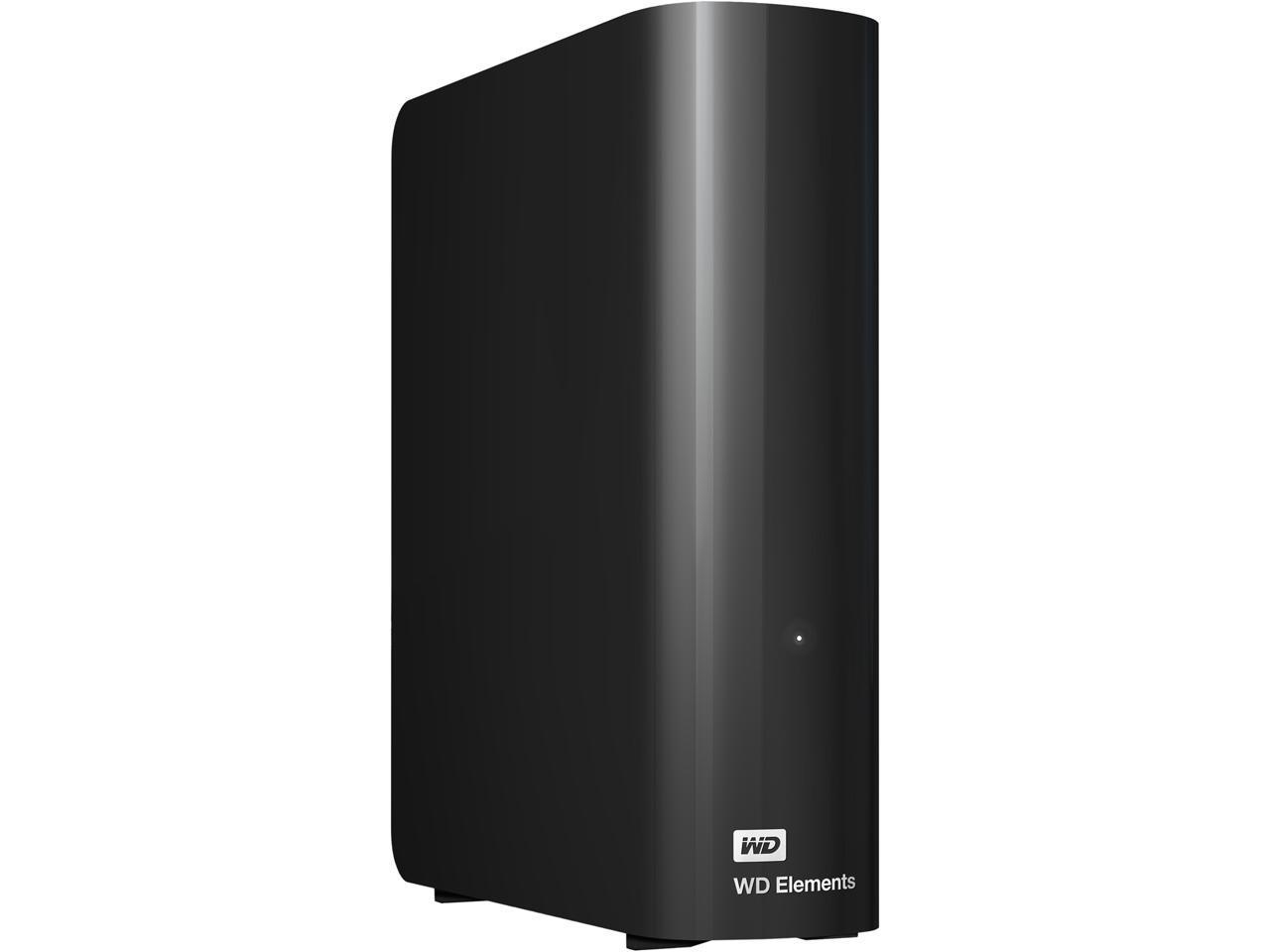 WD Elements 8TB USB 3.0 Desktop Hard Drive WDBWLG0080HBK-NESN $132.99 Free S/H Limit 5