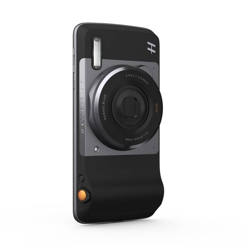 Moto Mods Hasselblad 4116 True Zoom 10x Optical Zoom Camera - Black $199 w/ FS (Compatibility: Moto Z Droid, Moto Z Force Droid, Moto Z Play Droid)