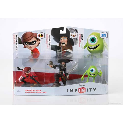 Disney Infinity Figures 3 Pack or Play Sets $14.96 or $17.49