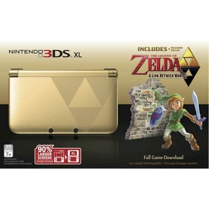 Nintendo 3DS XL Gold Zelda Limited Edition $149.99 at Target (DEAD)