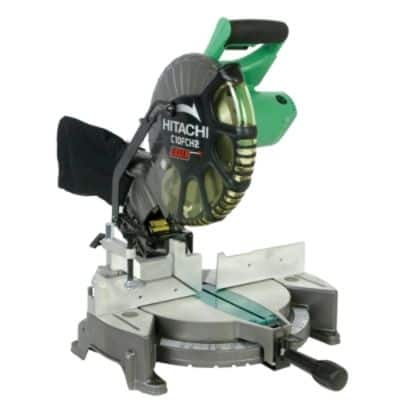 Hitachi C10FCH2 10'' Compound Miter Saw with Laser $89.10 w/pricematch