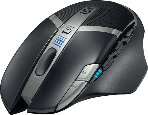 Logitech - G602 Wireless Optical 11-Button Scrolling Gaming Mouse - Black - for 19.99 B&M