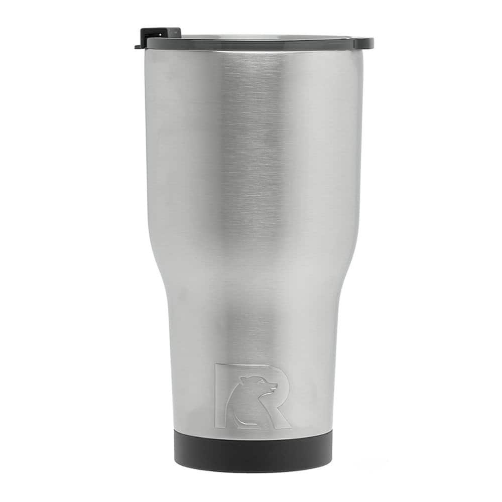 RTIC Double Wall Vacuum Insulated Tumbler, 30 oz, Stainless Steel $7.99