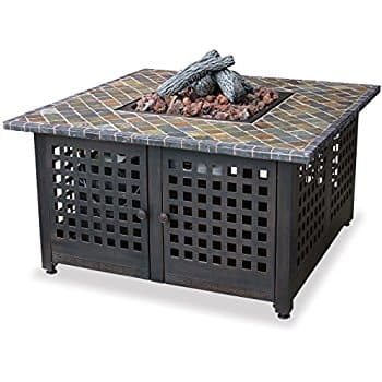 Fire Pit - Endless Summer, GAD860SP, LP Gas Outdoor Firebowl with Slate/Marble Mantel $273 wFS @ Amazon $272.79