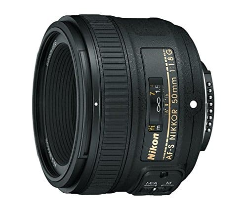 Nikon AF-S FX Nikkor 50mm f/1.8G Lens with Auto Focus $176.95 shipped from Amazon