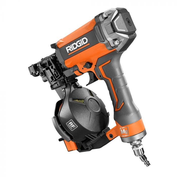 Certified Pre-Owned: RIDGID 15 Degree 1-3/4 in. Coil Roofing Nailer (Originally $149.99) $74.99