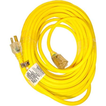 Snow Joe PJEXT50-B Low Temp Extension Cord | 50-Foot | 14 Gauge | Lighted End ( $16.99