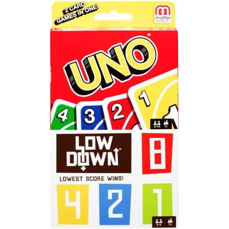 Walmart - B&M YMMV UNO Lowdown Card Game $1
